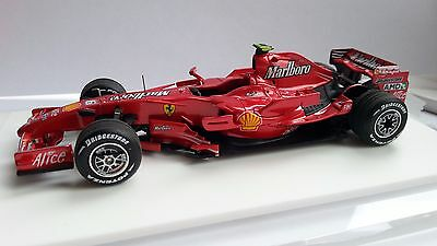 Ferrari F2007 Kimi Raikkonen China Factory Built Newace Tameo Rare 1/43 Scale