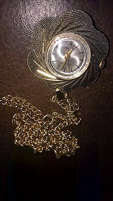 Swiss made Ancre 17 Jewels Movement Pendant Watch Shockresistant Battery