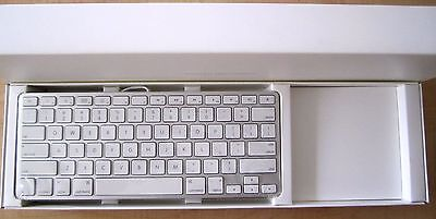 Apple USB Wired Compact Keyboard MB869LL/A White