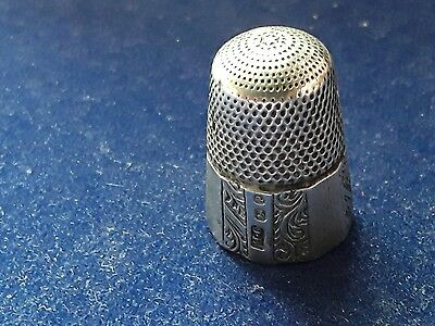 Silver Thimble By Henry Greenway.