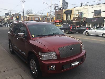 Infiniti: QX56 Great condition 2004 Infiniti QX56 Original Opus Red INFINITI PARTS ONLY