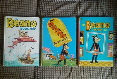 Beano Annuals 1969, 1970 and 1971 (BL57)