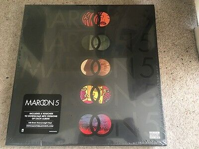 Maroon 5 Vinyl Box Set NEW Songs About Jane 5 Studio Albums Records Mint Sealed