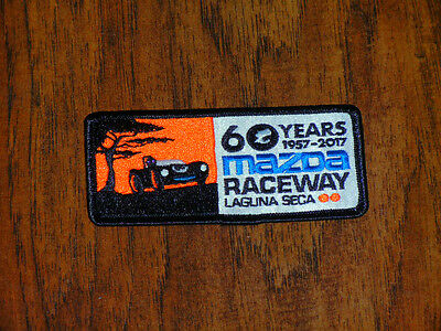 "Monterey Historic 60 Years Laguna Seca Raceway Limited Edition 2""x4"" Patch,mint"