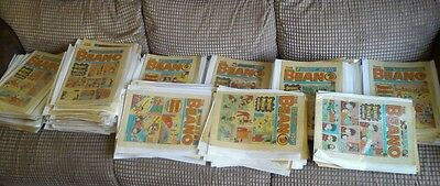 Beano Comics Collection Around 300. Years 1972-1988 Issues Listed (BA49)