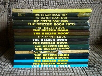 Beezer Annual Collection X19 1962-2001 (BR38)
