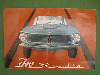 Iso Rivolta Catalogo Originale Brochure Pubblicita Catalog Car Sales Depliant