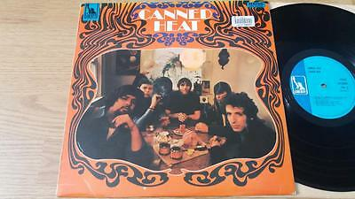 CANNED HEAT s/t LP Liberty LBS 83059 UK 1968 1st Pressing STEREO