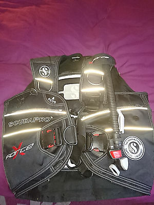 Scubapro X-Force Bcd,3Months Old,large,mint Condition!