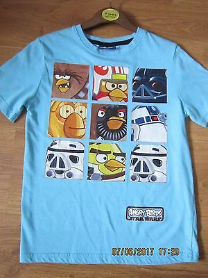 """""""angry Birds"""" Star Wars T-Shirt Age 8 - 9 Yrs"""
