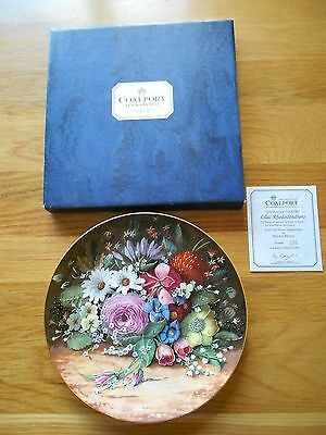 Hanging  Plates Set of 4. Coalport 1992. Limited Edition.