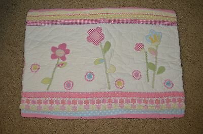 Pottery Barn Kids Girls Flower Standard Sham