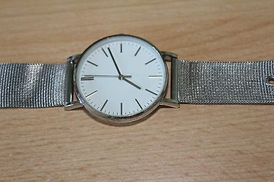 LADIES NEXT WRISTWATCH - Model P14/08 - STAINLESS STEEL BACK WITH METAL STRAP