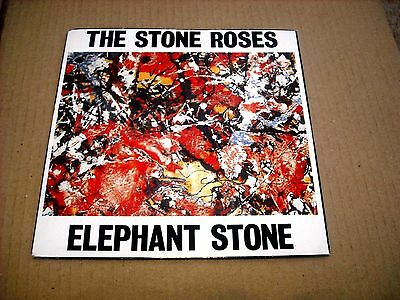 The Stone Roses - Elephant Stone - Silvertone Ore 1 1988 Porky Prime Cut Etching