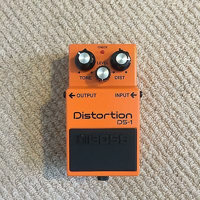 Boss DS-1 Compact Electric Guitar Distortion Pedal