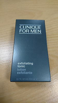 Brand New + Boxed Clinique For Men Exfoliating Tonic - 200Ml - Free Delivery!