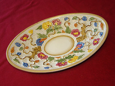 H. J. Wood Indian Tree Hand Painted Plate
