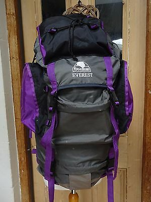 Large rucksack Freeman Everest festival camping hiking 80 litre