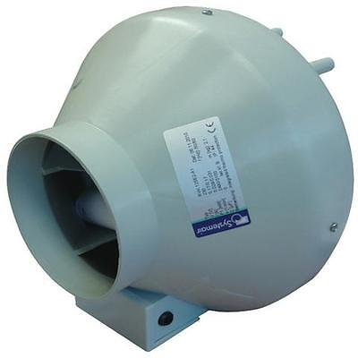 """Systemair 5 Inch RVK Fan - 5"""" 125mm A1 Ducting Extractor Fan"""