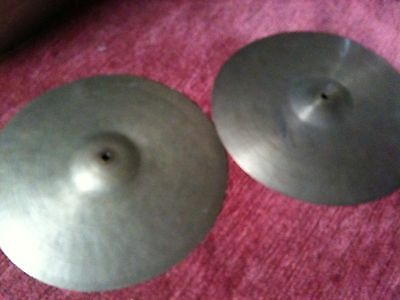 "13"" K. Zildjian Istanbul Old Stamp (40s/50s) HiHats thin"