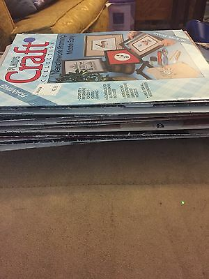 Vintage Craft Magazines And Booklets - Lot Of 22 - Craft Supplies