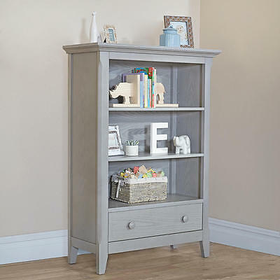 Baby Cache Overland Bookcase - Ash Gray