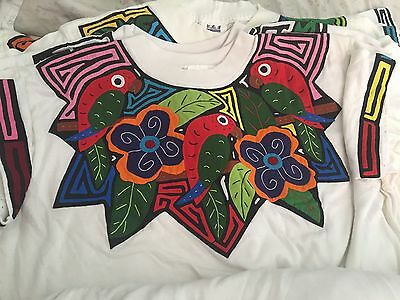 Mola Tshirt From Panama