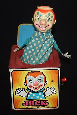Vintage 1971 Mattel Jack In The Box - Used - Working