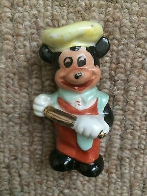 Vintage 1960s Disney Mickey Mouse Ornament
