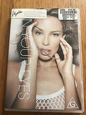 Kylie Minogue In Your Eyes Australian DVD Rare - Can't Get You Out Of My Head