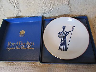 Vintage Royal Doulton Wrestling Plate British Amateur Wrestling Gladiator