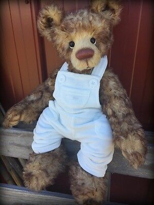 Gorgeous ooak todler artist bear by Emma's bears wow!