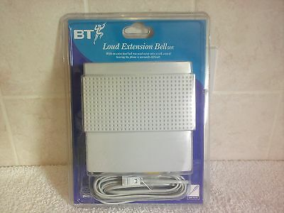 BT Loud Indoor Telephone Bell 50E- Easy Plug In Use, Loud Extension Ringer
