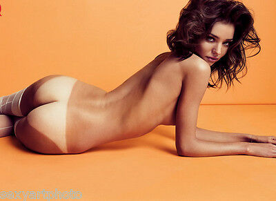Miranda Kerr model gorgeous body famous girl nude butt 8x10 photo