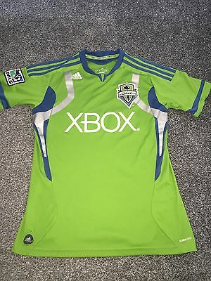 Seattle Sounders Home Shirt 2011/13 Youths 13/14 Rare