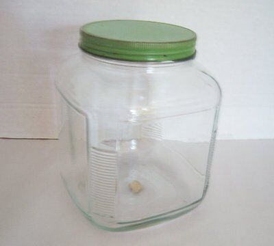 Vintage 1940's - 1960's Anchor Hocking 1 Gallon Counter Canister - Container