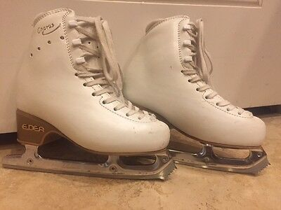 Edea Chorus Girls Ice Skates with Matrix Legacy Blades Sz 205