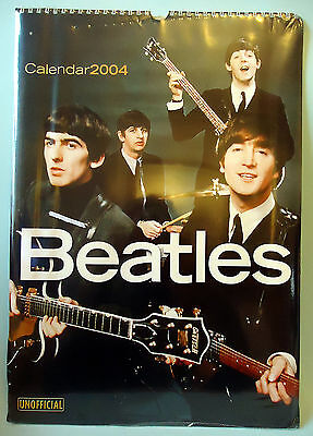 VINTAGE BEATLES 2004 CALENDAR MINT SHRINK WRAPPED Sotini