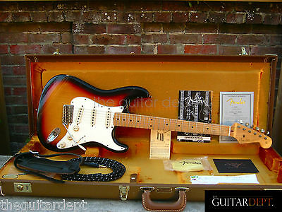 ♚NEW♚ULTRA RARE♚ FENDER Custom Shop '59 RELIC STRATOCASTER ♚MAPLE♚AMAZING!♚£3999