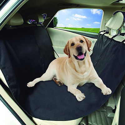 Car Bench Seat Cover For Dogs By Lebogner - Waterproof Fabric Pet Hammock Seat P