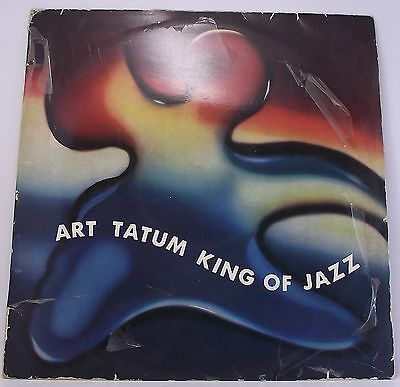 "ART TATUM : KING OF JAZZ Album Vinyl LP 12"" 33rpm MONO Excellent"