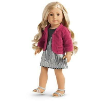 American Girl Doll Tenney's Sparkling Performance Outfit - NEW