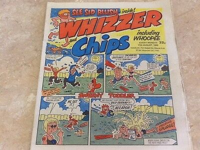 WHIZZER AND CHIPS vintage comic august 1985 excellent condition