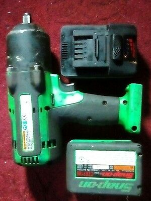 """Snap on 18v 1/2"""" Red Monster Lithium Cordless Impact gun Wrench  New"""