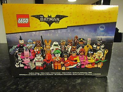 Lego The Batman Movie 71017 Complete Sealed Display Box of 60 Minifigures Lot 4