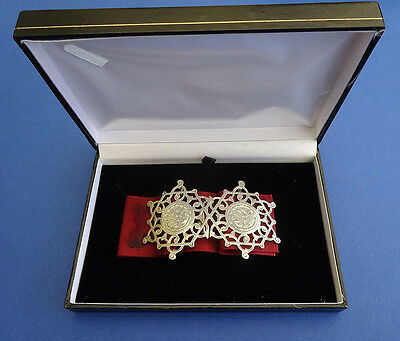 Edwardian Silver Nurses Belt Buckle Adie & Lovekin 1910