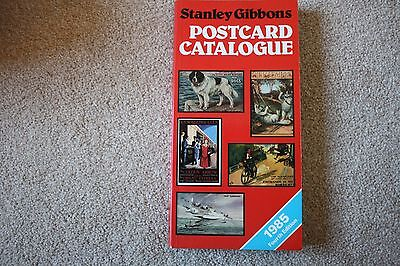 Stanley Gibbons POSTCARD CATALOGUE 1985