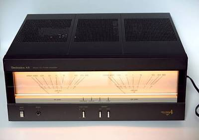 Japanese High End Power Amplifier Technics Se-A5 In Good Condition