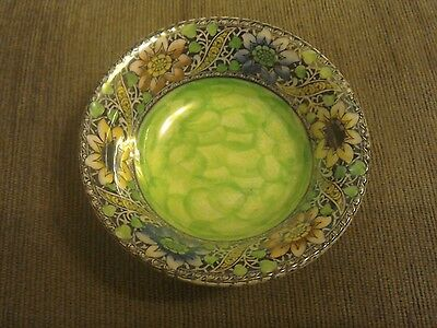Maling Green Floral Pattered  Dish
