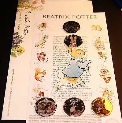 2016 NEW Beatrix Potter First Day Envelope / Cover New Peter Rabbit Christening